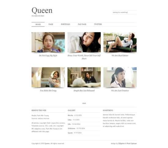 queen_blogger_template_screenshot