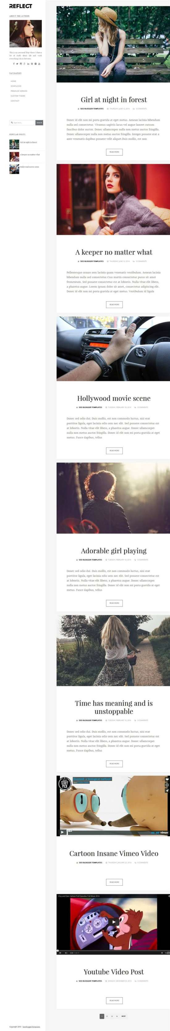 reflect_photography_blogger_template_screenshot