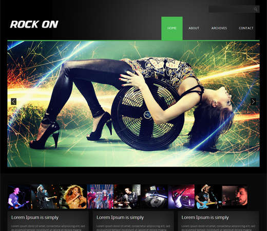 rock_on_online_shopping_music_mobile_website_template
