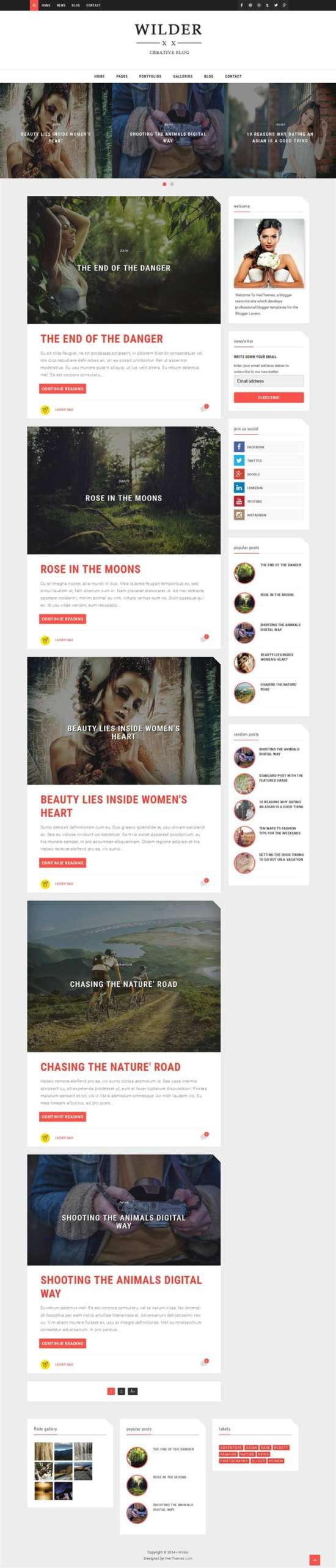 wilder_photography_blogger_template_screenshot