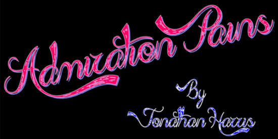 admiration_pains_caligraphy_font