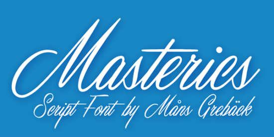 masterics_calligraphy_font