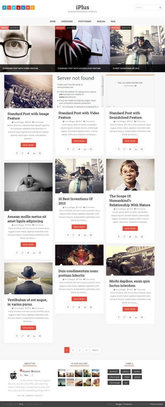 iplus_photography_blogger_template_screenshot
