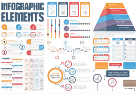 20 Creative Free Infographic Templates Elements Xdesigns