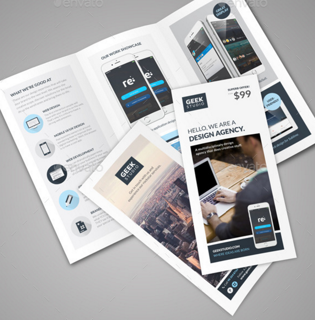 Digital Design Firm Brochure