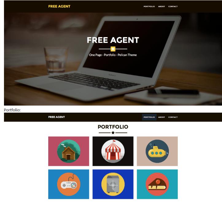 Free Agent Pelican theme