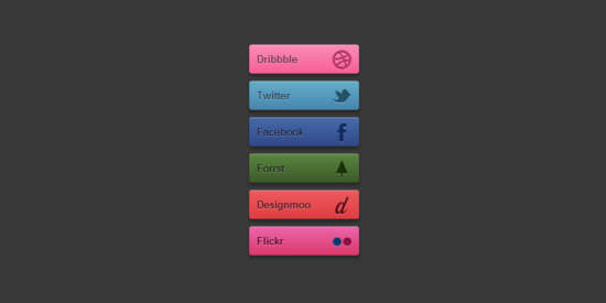 simple_colorful_css3_social_buttons
