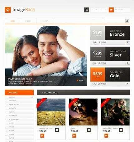 imagebank free prestashop template