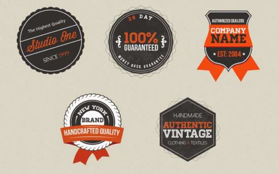 free_vintage_badges_psd_template