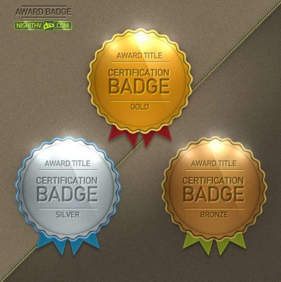 free_award_badge_psd_template