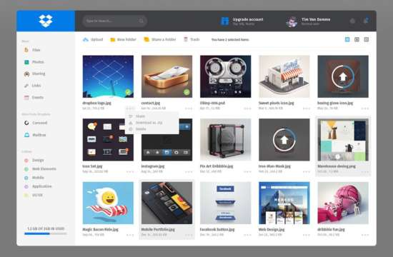 free_dropbox_redesign_dashboard_ui_psd