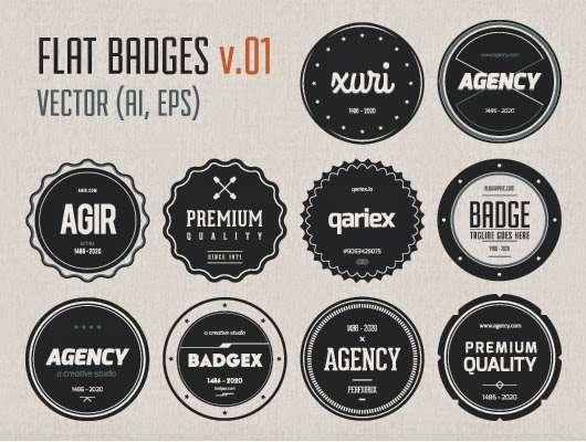 free_flat_badges