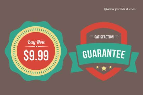 free_flat_web_badges_psd