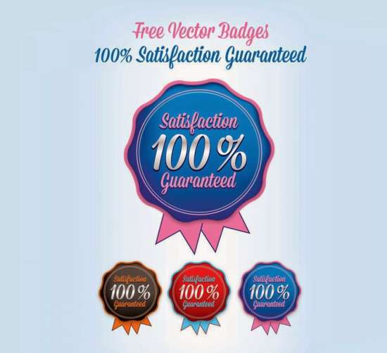 free_satisfaction_guaranteed_badges