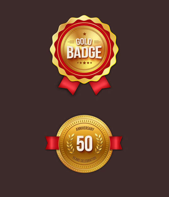 free_gold_badges_psd