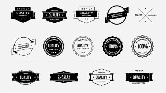 free_quality_badges_template