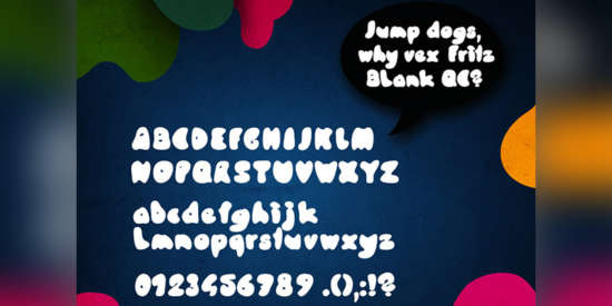 knubel_cartoon_font