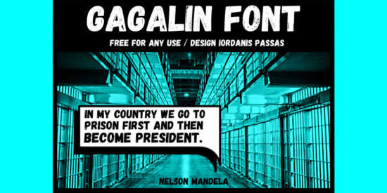 gagalin_cartoon_font