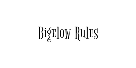 bigelow_rules_eclectic_funny_hybrid_font