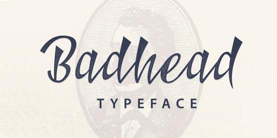 badhead_cartoon_font