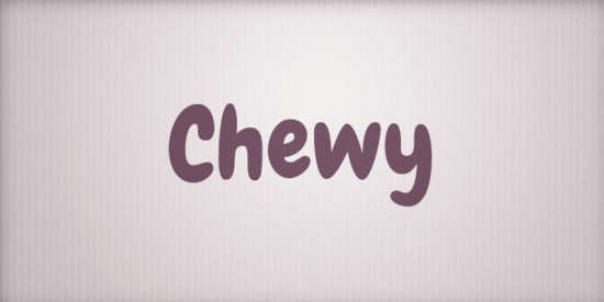 chewy_fun_rounded_shape_typeface