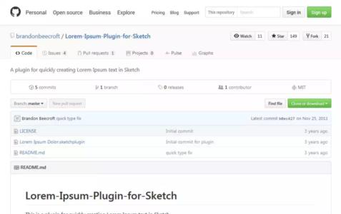 Lorem Ipsum Plugin for Sketch