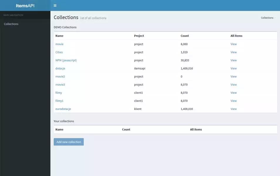 itemsapi_dashboard