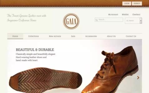 Gaia HTML Template