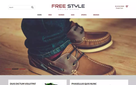 Free Style HTML Template