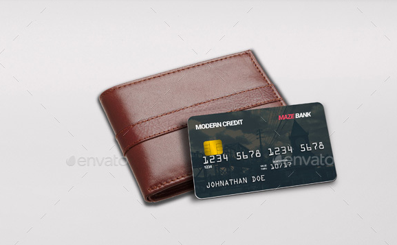 Bank Card Mock-Ups