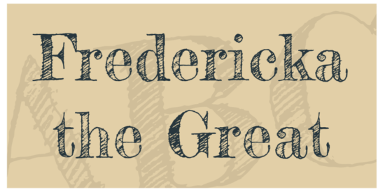 fredericka_the_great_nice_cartoonlike_typeface