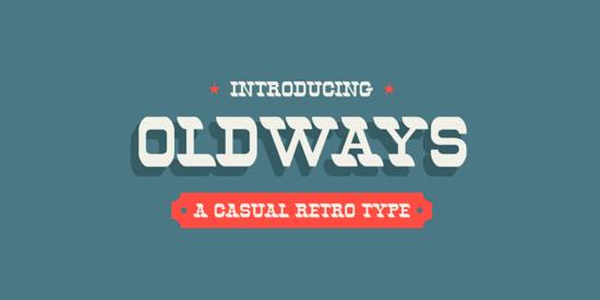 oldways_retro_vintage_free_font