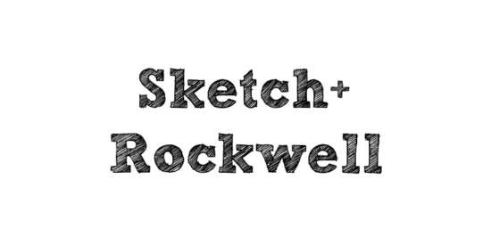 sketch_rockwell_font