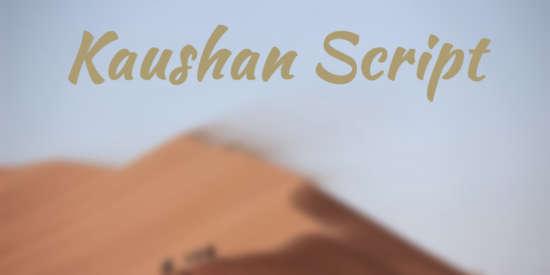 kaushan_script_spontaneous_design_typeface