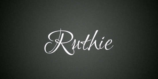 ruthie_stylish_cartoon_typeface