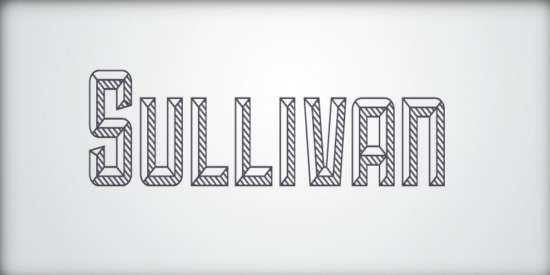 sullivan_three_variations_bold_display_font