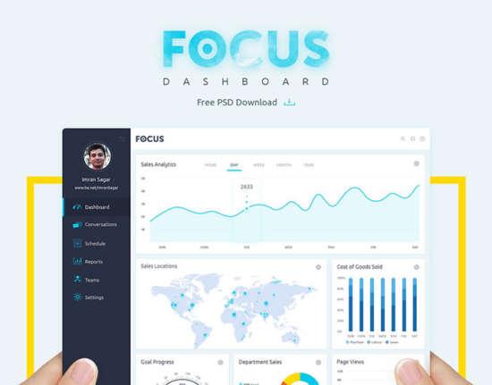 free_focus_dashboard_psd