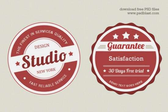 free_vintage_web_badge_psd