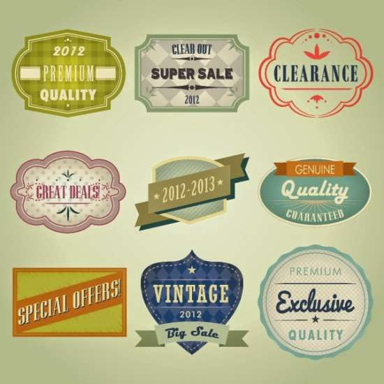 free_vintage_badges_template