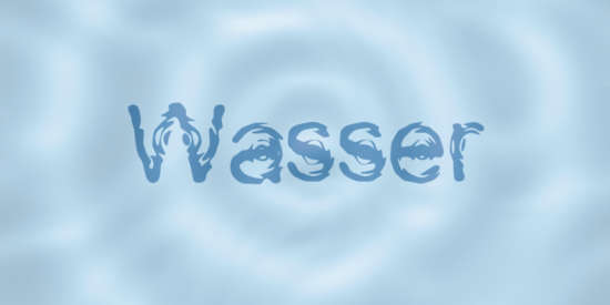 wasser_cartoon_font