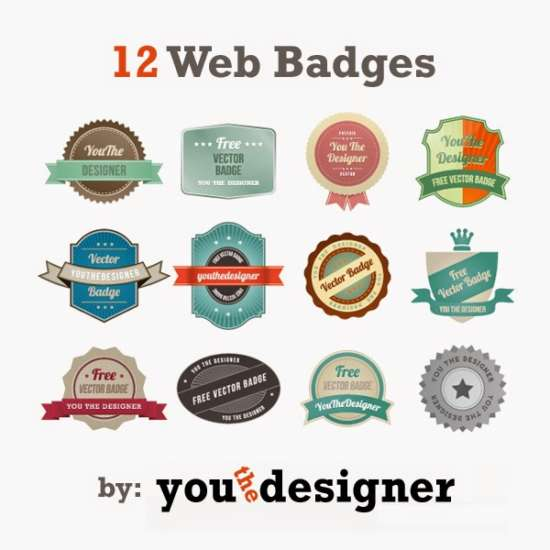 free_12_web_badges