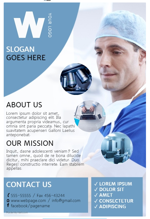 nurses week flyer templates - 20 free health medical ads templates xdesigns