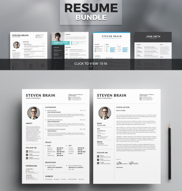 80+ Resume/CV Template Collections