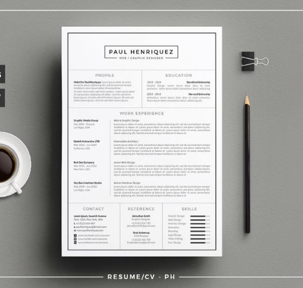 Tnsdesign Resume/CV