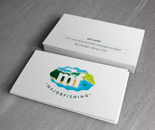 MajorFishing Business Card