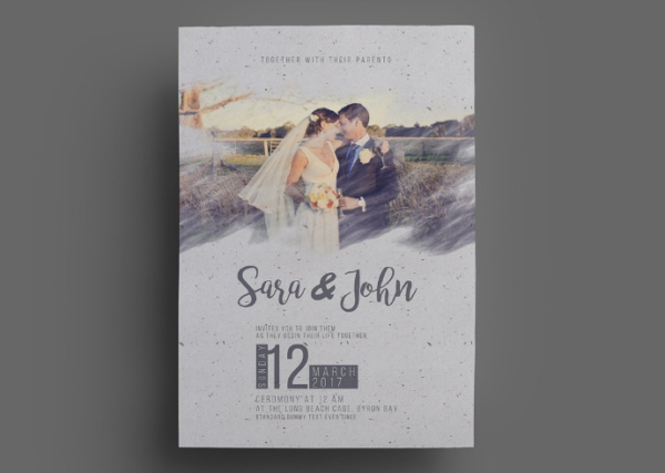 Download 8 free wedding invitations template in psd xdesigns vintage wedding invitation template stopboris Choice Image