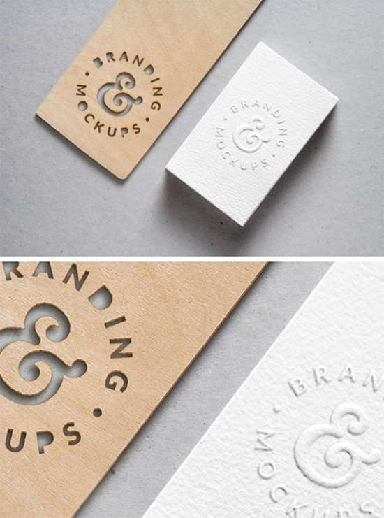 cutout_wood_embossed_bcard_mockup