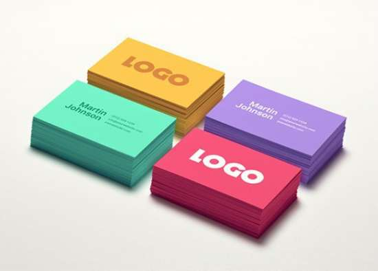 colorful_business_card_mockup