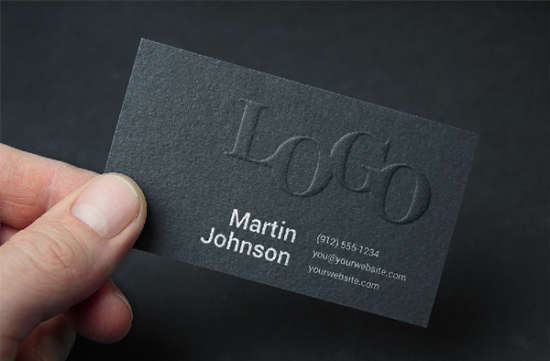 free_psd_embossed_business_card_mockup