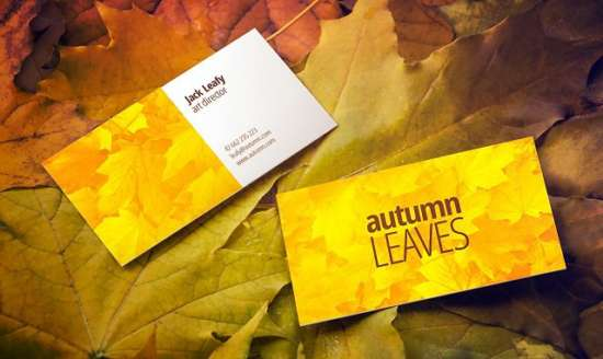 free_autumn_leaves_business_card_mockup